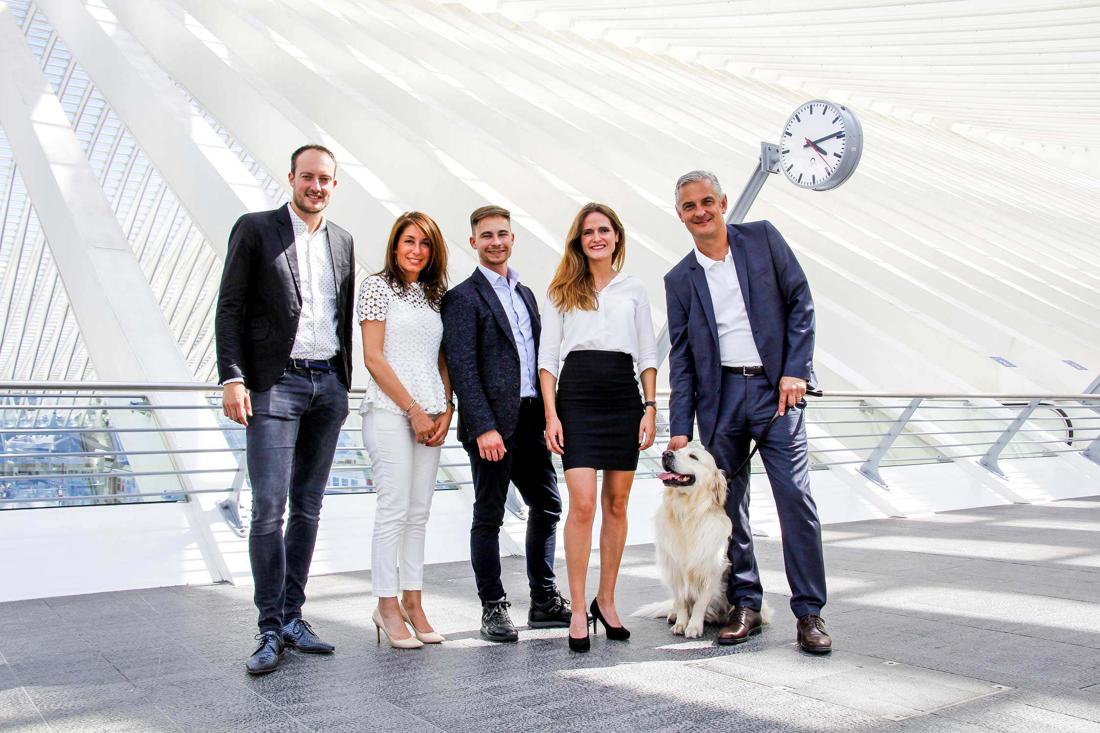 Optimum immobilier Liège team